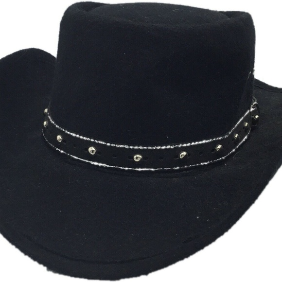 Ladies Red Western Cowboy Gambler Style Hat Line Dancing